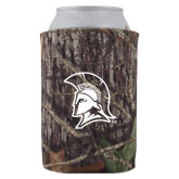Collapsible Camo Can Holder-Spartan Logo