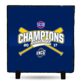 Photo Slate-Baseball SoCon Champions 2017 - Crossed Sticks
