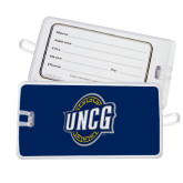 Luggage Tag-UNCG Shield