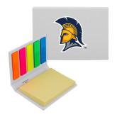 Micro Sticky Book-Spartan Logo