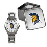 Mens Stainless Steel Fashion Watch-Spartan Logo