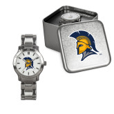 Ladies Stainless Steel Fashion Watch-Spartan Logo