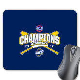 Full Color Mousepad-Baseball SoCon Champions 2017 - Crossed Sticks