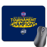 Full Color Mousepad-2018 Mens Basketball Champions - Brush