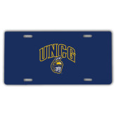 License Plate-Arched UNCG w/Spartan