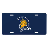 License Plate-Spartan Logo