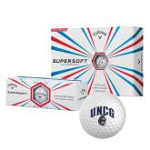 Callaway Supersoft Golf Balls 12/pkg-Arched UNCG w/Spartan