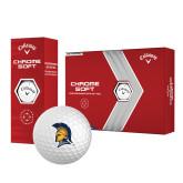 Callaway Chrome Soft Golf Balls 12/pkg-Spartan Logo