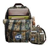 Heritage Supply Camo Computer Backpack-UNCG Shield