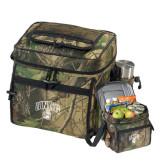 Big Buck Camo Sport Cooler-Arched UNCG w/Spartan