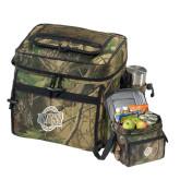 Big Buck Camo Sport Cooler-UNCG Shield