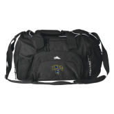 High Sierra Black Switch Blade Duffel-Arched UNCG w/Spartan