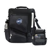 Momentum Black Computer Messenger Bag-UNCG Shield