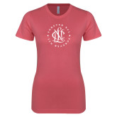 Next Level Ladies SoftStyle Junior Fitted Pink Tee-Forever NCL