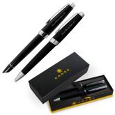 Cross Aventura Onyx Black Pen Set-Wordmark  Engraved