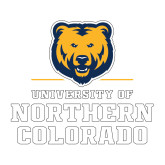 Medium Decal-Northern Colorado Stacked Logo, 8 inches wide