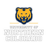 Small Decal-Northern Colorado Stacked Logo, 6 inches wide