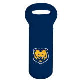 Full Color Wine Tote-UNC Bear Logo