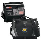 Slope Black/Grey Compu Messenger Bag-UNC Bear Logo