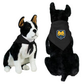 Black Pet Bandana-UNC Bear Logo