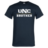 Navy T Shirt-Brother
