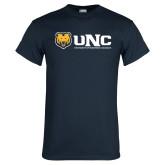 Navy T Shirt-UNC University of Northern Colorado