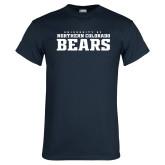 Navy T Shirt-University of Northern Colorado Bears Collegiate