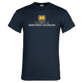 Navy T Shirt-University of Northern Colorado Academic