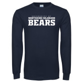 Navy Long Sleeve T Shirt-University of Northern Colorado Bears Collegiate
