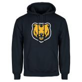 Navy Fleece Hoodie-UNC Bear Logo