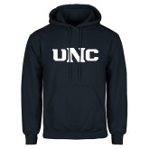 Navy Fleece Hoodie-UNC