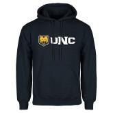Navy Fleece Hoodie-UNC Bears