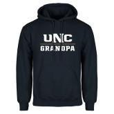 Navy Fleece Hoodie-Grandpa