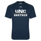 Under Armour Navy Tech Tee-Brother
