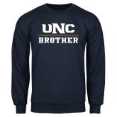 Navy Fleece Crew-Brother