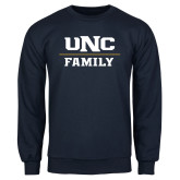 Navy Fleece Crew-Family