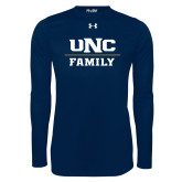 Under Armour Navy Long Sleeve Tech Tee-Family