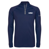 Under Armour Navy Tech 1/4 Zip Performance Shirt-UNC