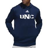 Adidas Navy Team Issue Hoodie-UNC