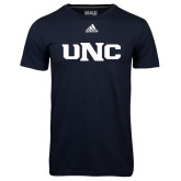 Adidas Climalite Navy Ultimate Performance Tee-UNC