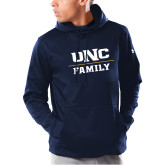 Under Armour Navy Armour Fleece Hoodie-Family
