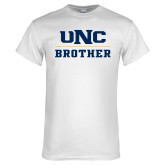 White T Shirt-Brother