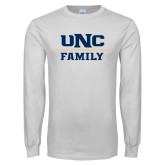 White Long Sleeve T Shirt-Family