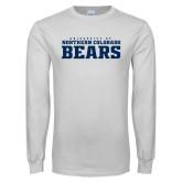White Long Sleeve T Shirt-University of Northern Colorado Bears Collegiate