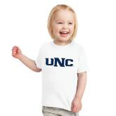 Toddler White T Shirt-UNC