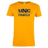 Ladies Gold T Shirt-Family