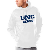 Under Armour White Armour Fleece Hoodie-UNC Bears Collegiate