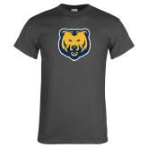 Charcoal T Shirt-UNC Bear Logo