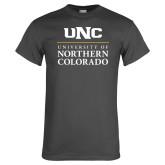 Charcoal T Shirt-UNC Academic Block