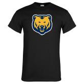 Black T Shirt-UNC Bear Logo